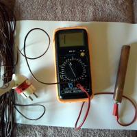 mesure courant-induit dans le corps