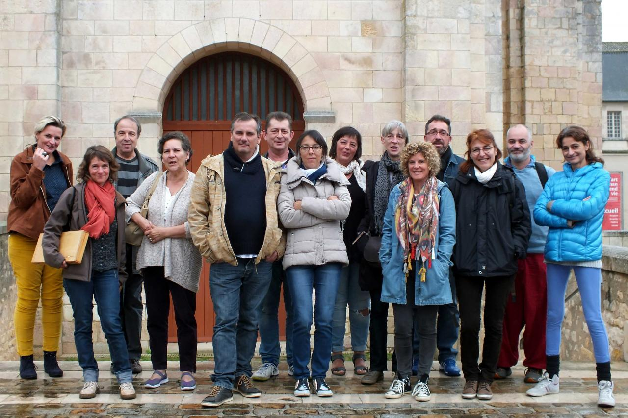 visite énergétique abbatiale St savin